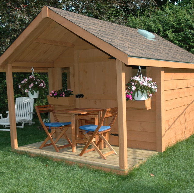 8x8 Low Classic with Porch