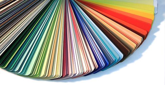 Paint color fan deck