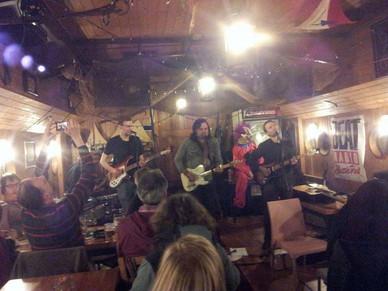 Koncert při křtu prvního alba na lodi Kristian Marco