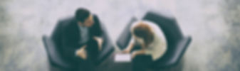 Accoutants in Orpington, Bromley, Sevenoaks and South East .  Image of two people having a meeting.