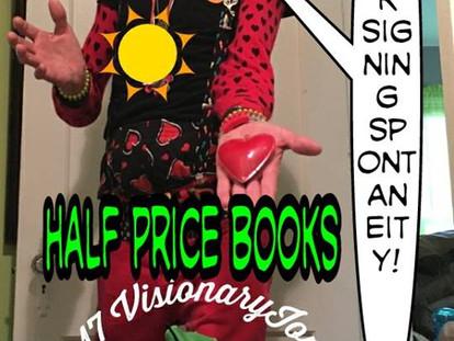 Half Price Books Signing - July 8th