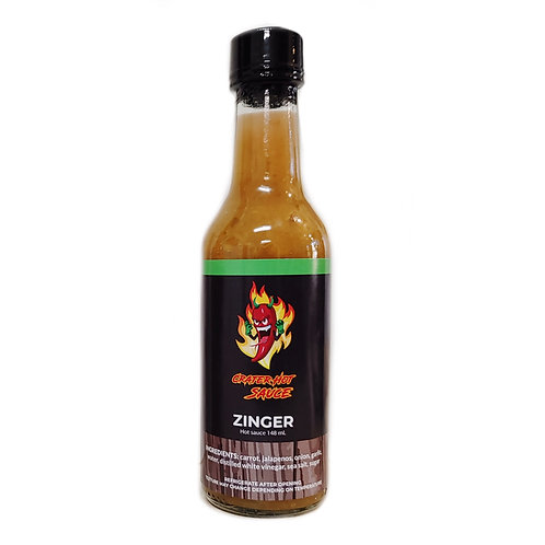CRATER ZINGER HOT SAUCE