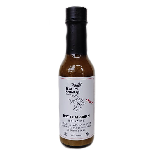 SEED RANCH HOT THAI GREEN HOT SAUCE