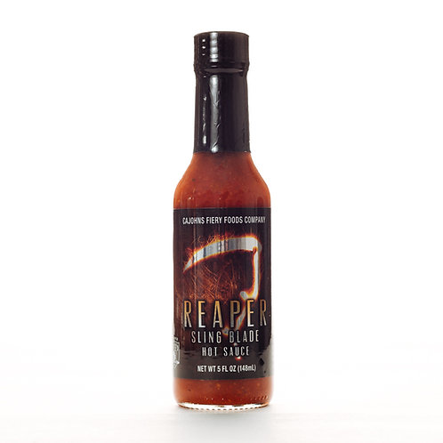 Cajohns Reaper Sling Blade HotSauce