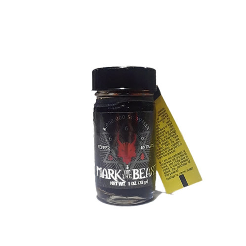 MARK OF THE BEAST 6 MILLION SCOVILLE PEPPER EXTRACT