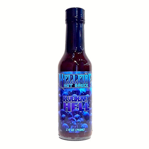 HELLFIRE BLUEBERRY HELL HOT SAUCE