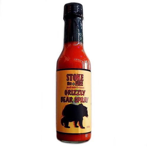 STOKE THE FIRE GRIZZLY BEAR SPRAY