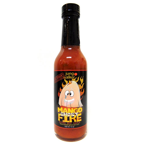 Jung Walker Mango Ghost Fire Hot Sauce