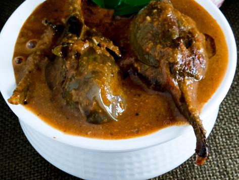 Ennai Kathirikaai Kuzhambu/Brinjal Curry