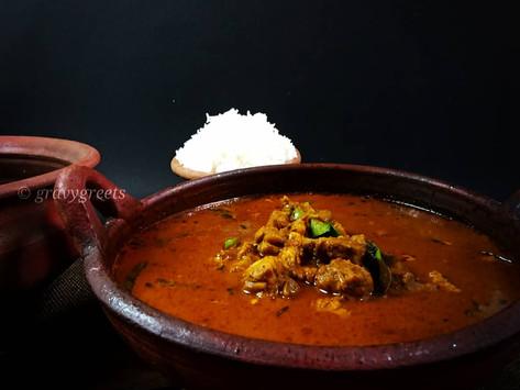 Gramathu Kozhi Kuzhambu/Country Style Chicken Curry