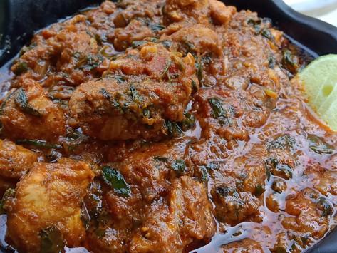 Methi Chicken Masala