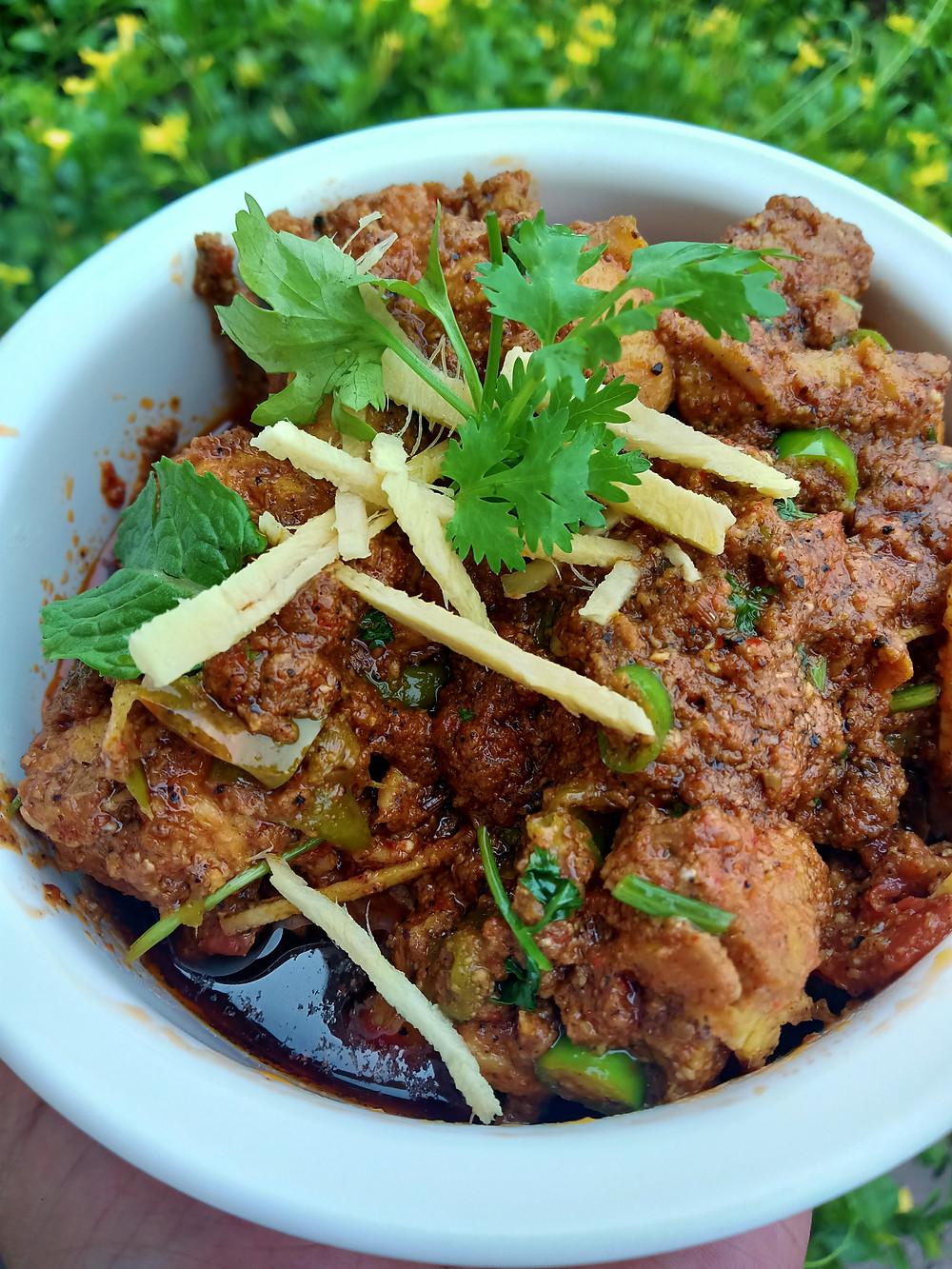 Pakistani Karahi Chicken Recipe
