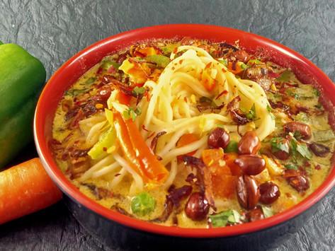 Khow Suey Noodles/Burmese Khow Suey