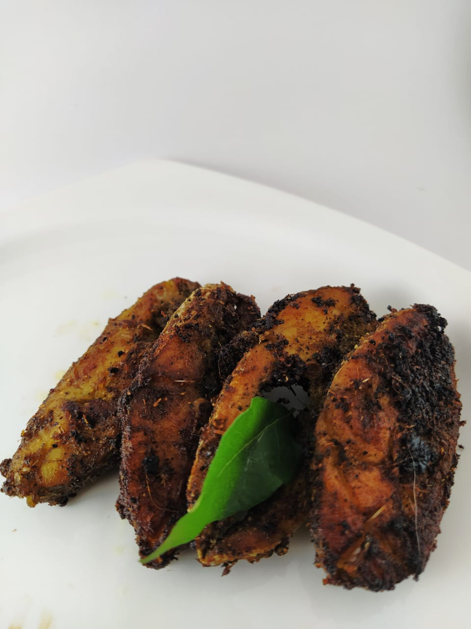 Pepper fish tawa fry srilankan style