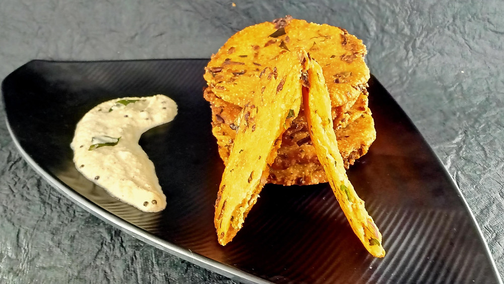 Traditional Karnataka Recipe Maddur Vada