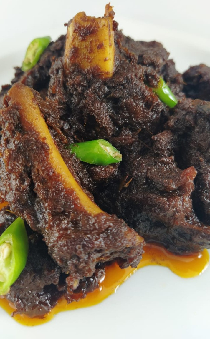 Mutton Kosha mangsho recipe