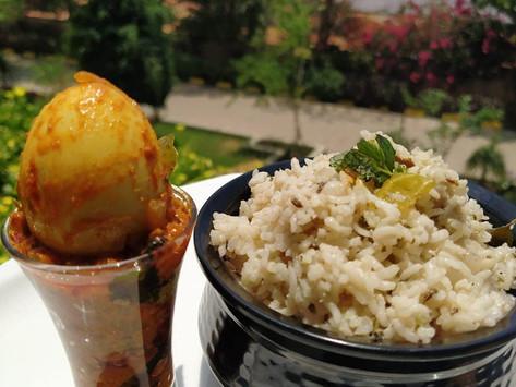 Coconut Milk Rice/Thengai Paal Saadham