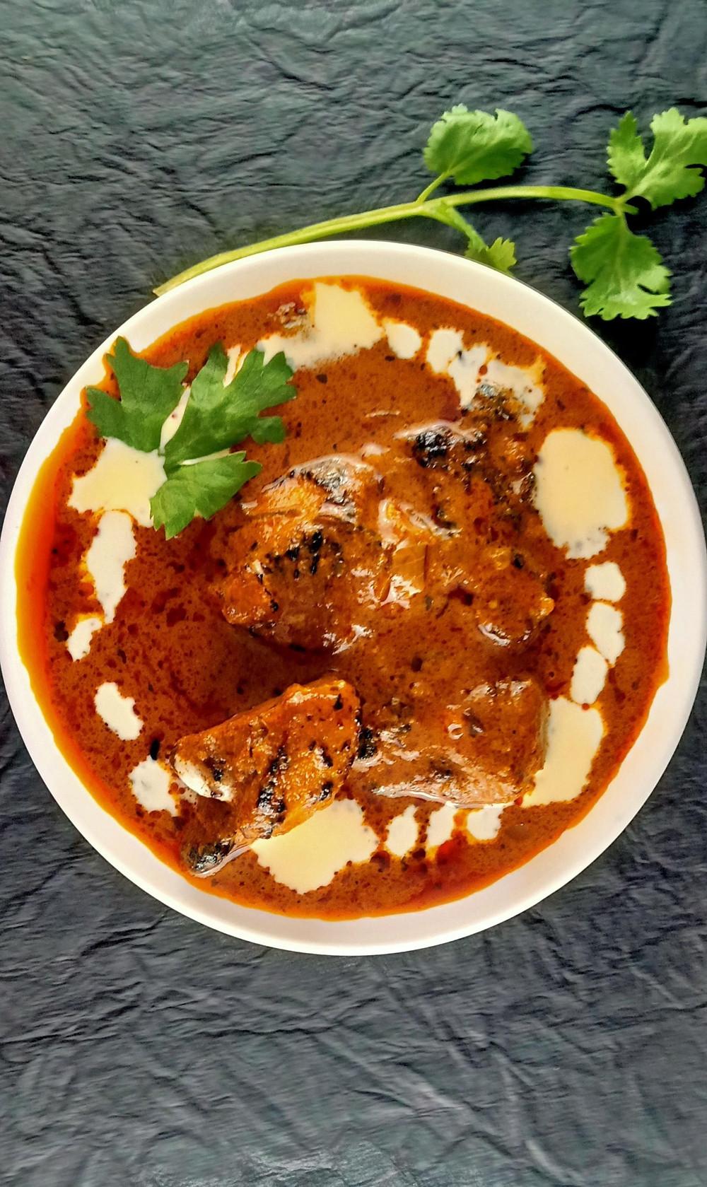 Restaurant Style Chicken Tikka Masala Gravy