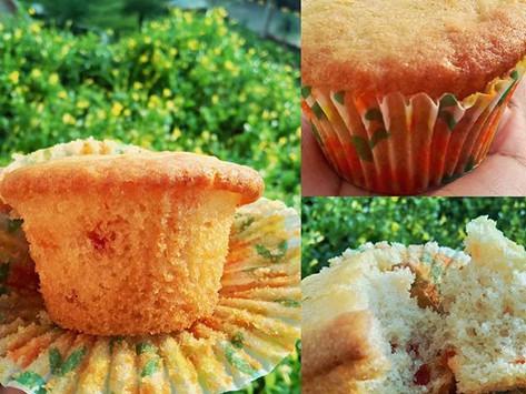 Eggless Tutti Frutti Mini Cakes