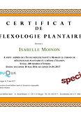 Certificat de réflexologie plantaire I Ecole Réflexe Santé I Morges