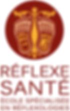 logo Ecole de réflexologie Réflexe Santé
