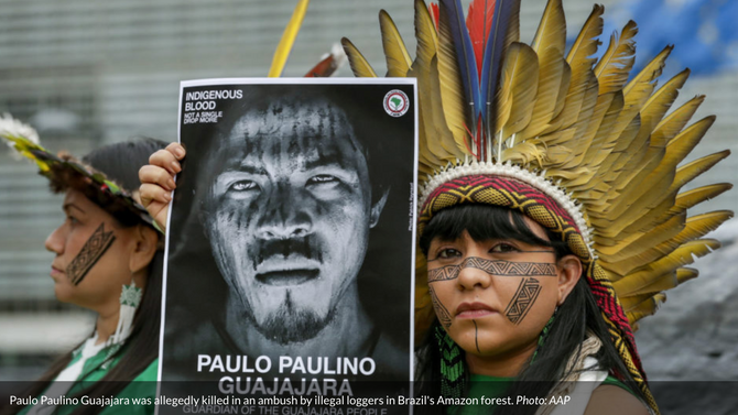 Slain Amazon eco warrior becomes a conservation martyr