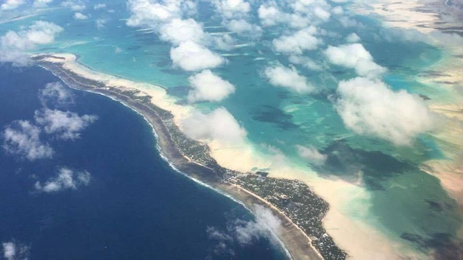 Field work in Kiribati