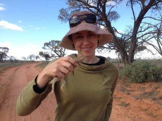 Dr April Reside, winner of a 2020 Queensland Young Tall Poppy Science Award.