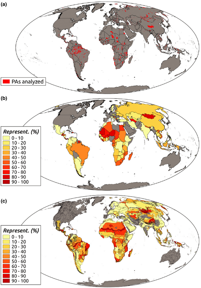 Widespread shortfalls in protected area resourcing undermine efforts to conserve biodiversity