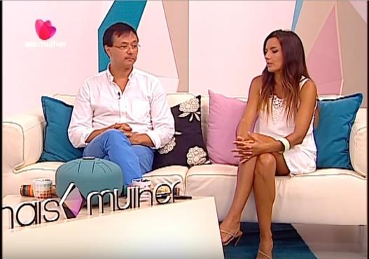 Mais mulher com Ana Rita Clara e Pedro choy