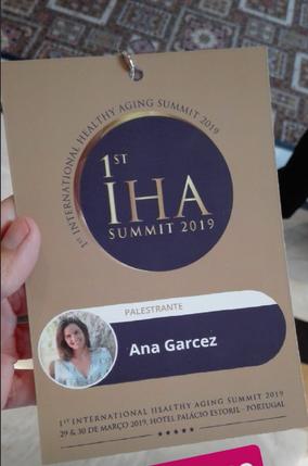 1st International Healthy Aging Summit 2019, Estoril