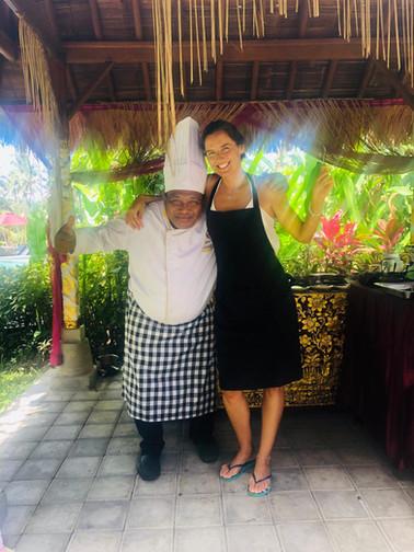 Showcooking Chefe Balinês