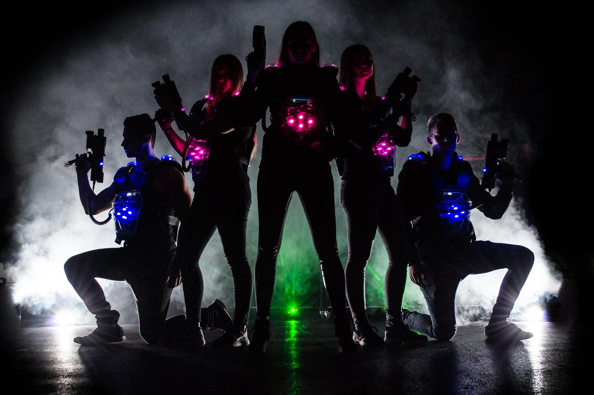 Mega Lasergame
