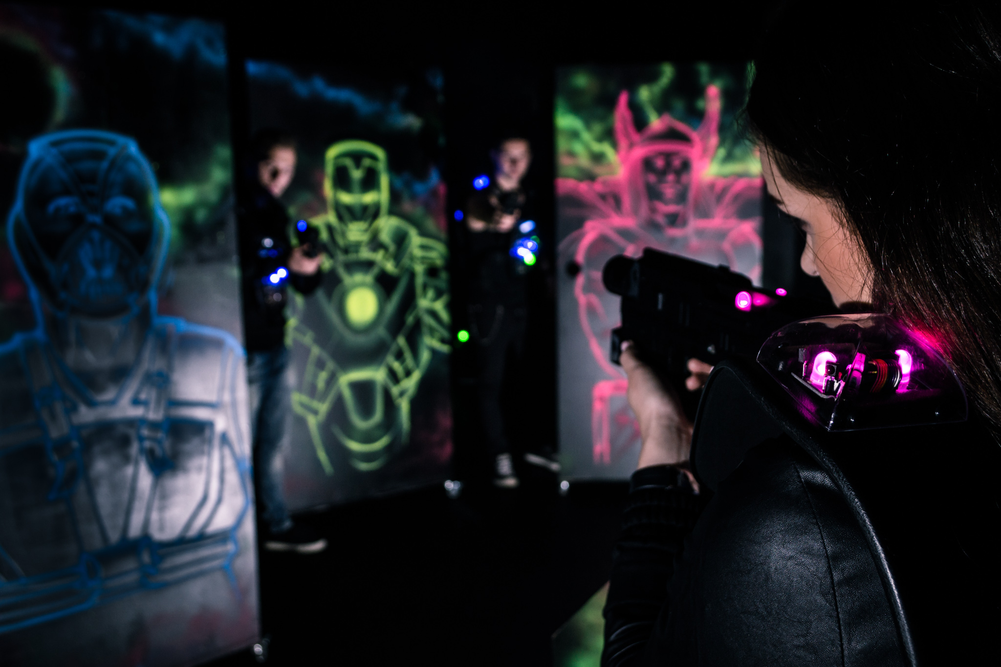 Mega Lasertag