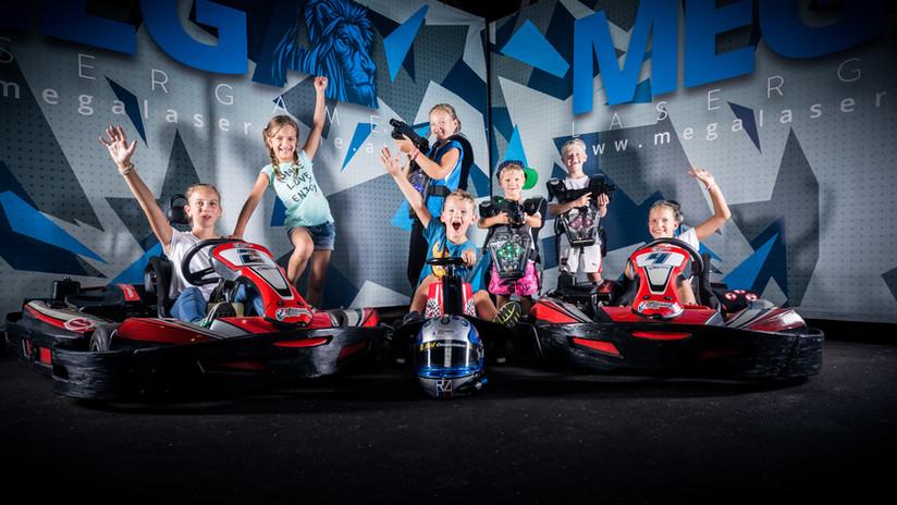 Bangster Games Kindergeburtstag Go Kart
