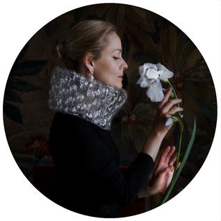 Self portrait with an iris (for Cedric Morris)/ Автопортрет с ирисом (Посвящение Седрику Моррису)