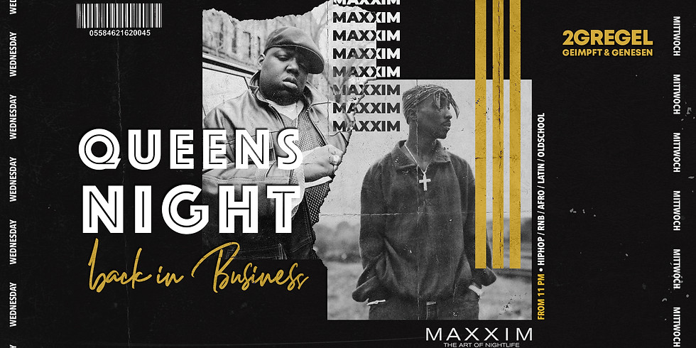 QUEENS NIGHT | Back In Business (2G)