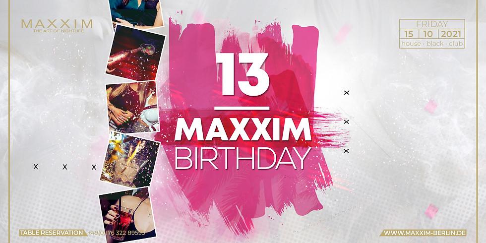 13. MAXXIM CLUB BIRTHDAY - 2G !