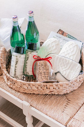 Over Night Guest Gift Basket