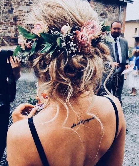 bohemian wedding hairstyle,Atlanta Wedding planner, georgias modern wedding planner, Woodstock Ga. wedding planner, Calicornia wedding planner, Northern California, Wedding style boards, wedding inspiration, Atlanta brides