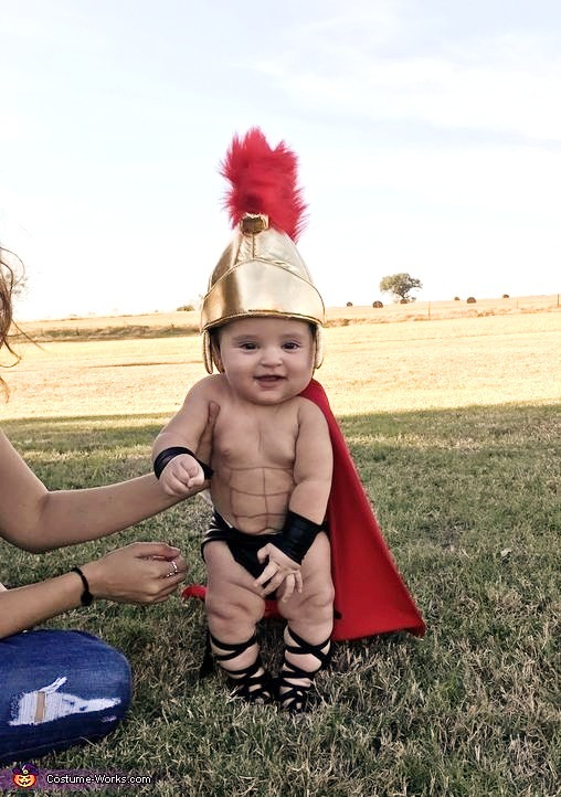 Spartan Baby Costume