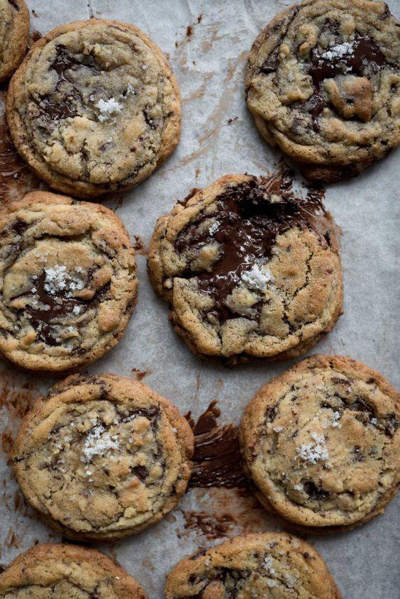 Nostalgic chocolate chip cookies