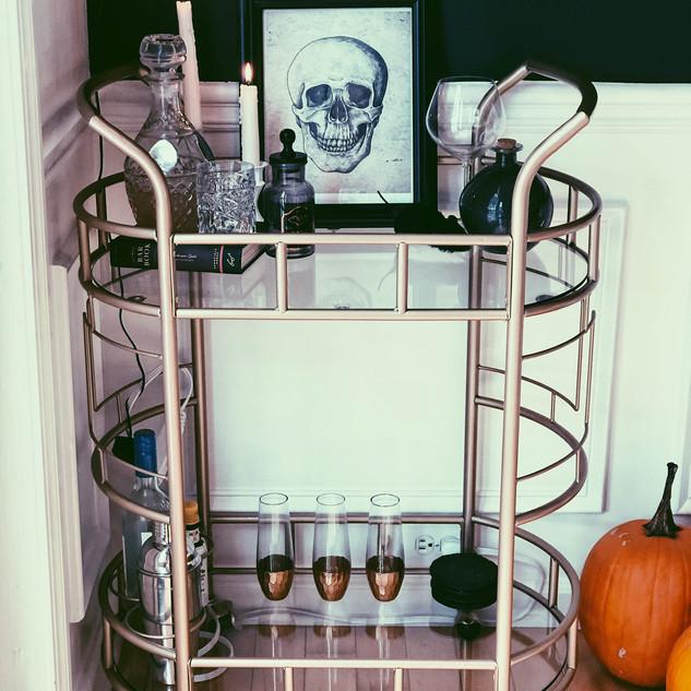 Cheap Halloween Bar Cart Decorations