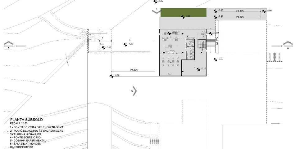 Underground Plan Drawing