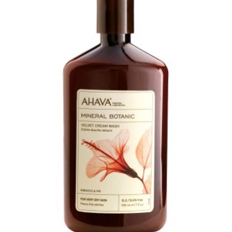 Mineral botanic cream wash, Hibiscus & fig