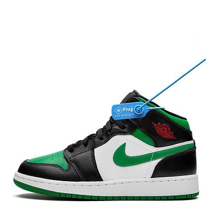 """Jordan 1 Mid """"Green Toe"""" GS"""