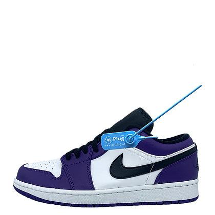 "Jordan 1 Low ""Court Purple"""