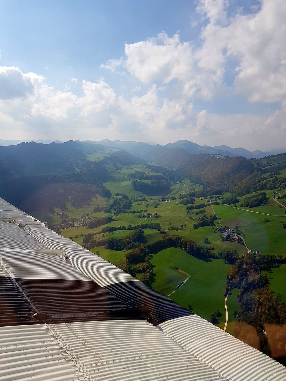 View from Junkers Ju 52