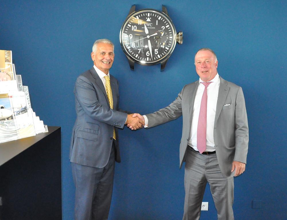 Mr Claudio Lasagni and Mr Urs Mezger