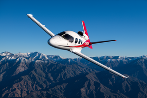 Cirrus Vision Jet SF50 in flight. Image credit: Cirrus Aircraft